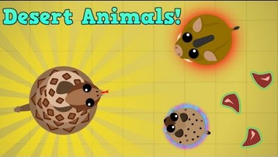 Mope.io Rattle Snake Gameplay!!! Desert Biome Testing And Fun + Surviv.io Update Leeks...