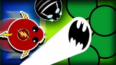 MOPE.IO SUPERHEROES & ANIMAL RESCUES MONTAGE!  (Mope.io Batman, Flash and Black Panther Skins)