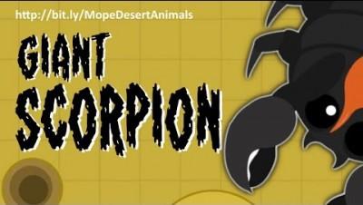 MOPE.IO // THE #GiantScorpion SHIVERS MOPE WORLD // #DesertUpdate // Teaser #75