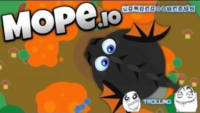 Mope.io-Тролинг и другое