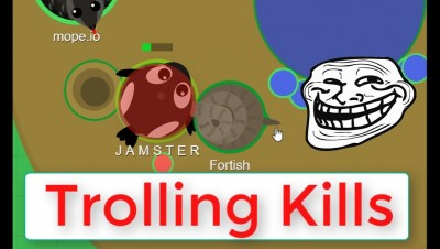 Mope.io // TROLLING KILLS compilations // Best moments on mope.io
