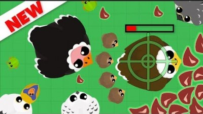 Mope.io UPDATE // BABY OSTRICH KILLING EAGLE // 4 NEWS BIRDS AND FROGS