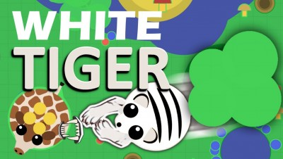 MOPE.IO // WHITE TIGER // MULTI SKIN ANIMAL // EXPERIMENTAL