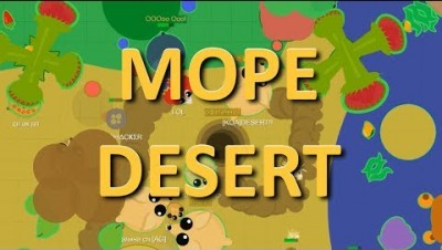 MOPE.IO // WORLDS BEST TOURIST DESTINATION // EVERYONE MOVING TO MOPE DESERT // TRENDING ON BETA