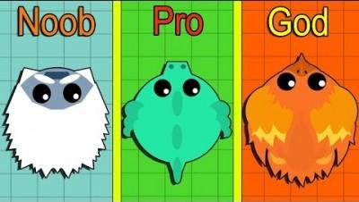 Mope.io WORST ANIMALS CHALLENGE! EVOLUTION OF MOPE.IO ANIMALS (Mopeio Best Moments)