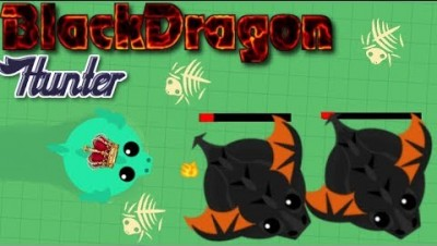 mope.io//How to kill a BlackDragon quick tip//BD Hunter!!//funny moments
