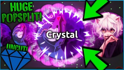 MOST INSANE ALIS.IO POPSPLITS! Crystal & Marl DESTROYING Alisio UNCUT!