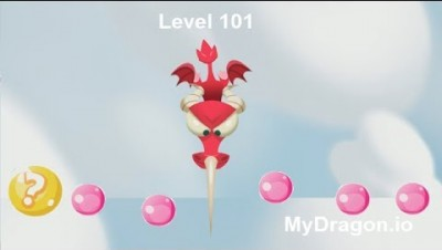 Mydragon.io Level 101 Score 10,000 (New .io Game)
