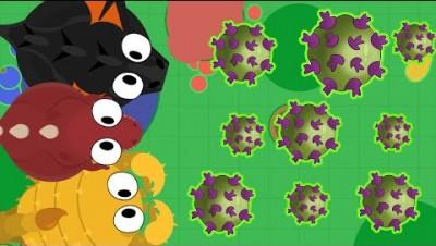 NÃO SEJA INFECTADO PELO VÍRUS - Mope.io Viral Pandemic