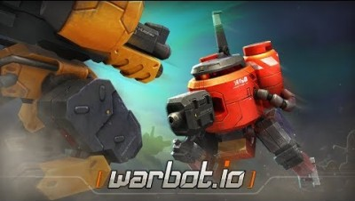 *NEW* 24 KILLS ROBOTS Battle Royale Warbot.io