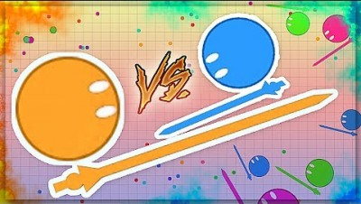 NEW AGAR.IO but with SWORDS !!