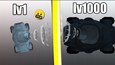 NEW BEST IO GAME!? (Diep.io TANK LV1000 EVOLUTION)