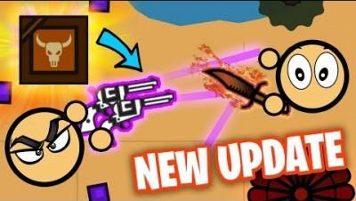*NEW* DESERT BIOME AND WEAPONS UPDATE IN SURVIV.IO! (Surviv io Update)
