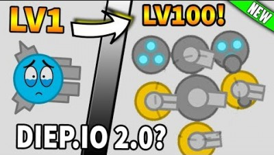 NEW Diep.io Evolution! DIEP.IO 2.0 (New io game Tanksmith.io)