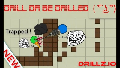 NEW DRILLZ.IO // DRILL OR BE DRILLED ( ͡° ͜ʖ ͡°) // AMETHYST DRILL