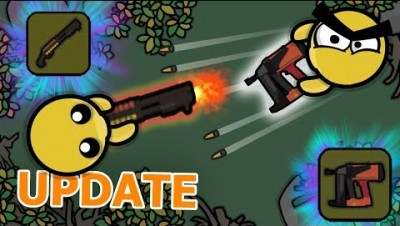 *NEW* EXPLOSIVE SHOTGUN & NAILGUN IN DEVAST.IO! (Devast io Update)