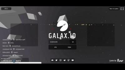 NEW GALAXY GAME??!! Galax io Gameplay!