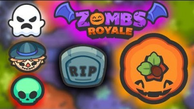 NEW HALLOWEEN UPDATE!! Mystery Mode on Zombsroyale.io & Giant Pumpkin! (Battle Royale New Gamemode)