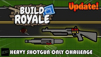 NEW! Heavy Shotgun ONLY Challenge! || Build Royale.io