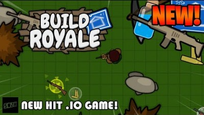 NEW HIT .IO GAME! || BuildRoyale.io