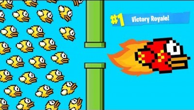 NEW .iO GAME! BATTLE ROYALE FLAPPY BIRD! WORLD RECORD SCORE in FLAPPYROYALE.IO CHALLENGE