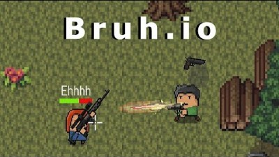 NEW IO GAME! Bruh.io - Multiplayer Battle Arena | Like Foes.io