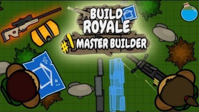 .New IO GAME | BuildRoyale.io | 2d Fortnite ??