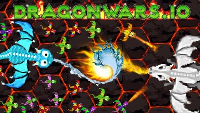 New IO GAME - Dragons warfare! | My White dragon vs 100 dragons | Epic Gameplay -   dragonwars.io