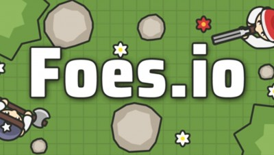 New .IO Game! FOES.io Be the last survivor (Like MooMoo.io & Starve.io)