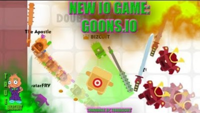 NEW IO GAME: GOONS.IO [WORLD RECORD GAMEPLAY!] 7.9K SCORE + EPIC MOMENTS | GAME LIKE RUSHER.IO