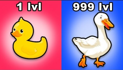 *NEW IO GAME* Goose Max Level Evolution - GooseGame.io