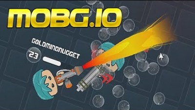 NEW IO GAME | Mobg.io - Battle Royale IO Game