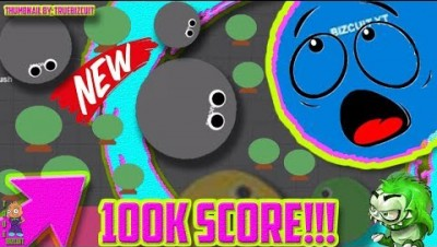 NEW IO GAME: MONSTERCRUSH.IO [WORLD RECORD GAMEPLAY] 100K SCORE | WORLD'S BIGGEST MONSTER!!! FUNNY