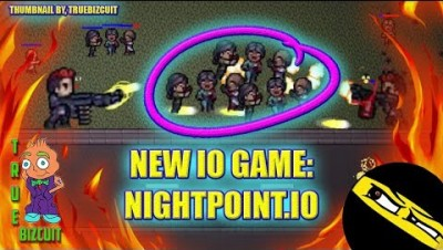 NEW .IO GAME: NIGHTPOINT.IO [EPIC MOMENTS & GLITCHES & TIPS] HD