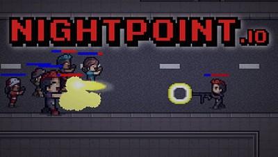 NEW IO GAME - Nightpoint.io - (LIKE Gats.io)