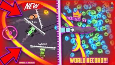 NEW IO GAME: NITRODRIFT.IO [WORLD RECORD GAMEPLAY] HOW TO GET 3K SCORE | SECRET CAR?! HOW TO WIN HD