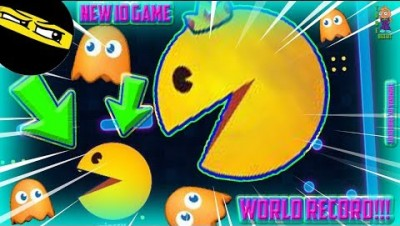 NEW IO GAME!: PAC-MAN.IO [WORLD RECORD GAMEPLAY!] HOW TO BECOME THE BIGGEST PACMAN | FUNNY MOMENTS!!
