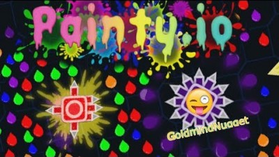 NEW IO GAME | Painty.io Gameplay | LIKE ARRAW.IO
