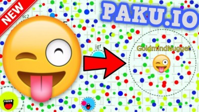 NEW IO GAME | Paku.io Gameplay | BIGGEST MOUTH | TROLLING OTHER PLAYERS!