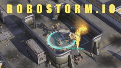 NEW IO GAME ! Robostorm.io - Robot fighting IO Game