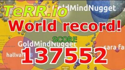 NEW IO GAME   Terr.io Gameplay   137,552 POINTS    WORLD RECORD!