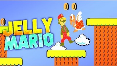 NEW LEVEL! Jelly Mario Update r14 - Jelly Mario Gameplay