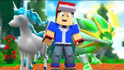 *NEW* Minecraft Light - Type Pixelmon Crane Game - Minecraft Modded Minigame | JeromeASF