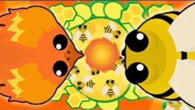 *NEW* PHOENIX ANIMAL UPDATE BETA! MOPE.IO FIRE TORNADO ABILITY *INSANE* BEE & HONEYCOMB (Mope.io)