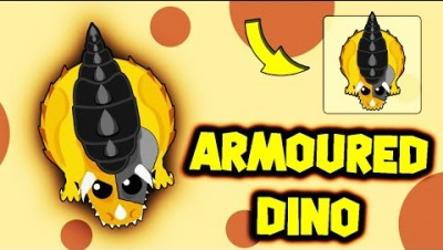 NEW *RARE* ARMOURED DINO MONSTER IN MOPE.IO