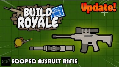 NEW SCOPED AR! || Build Royale.io
