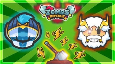NEW SEASON 7 UPDATE - KNIGHTS CONTROL THOR'S HAMMER!! Zombsroyale.io Gameplay