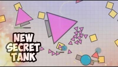 NEW SECRET PINK TANK! Diep.io UFO TANK | РОЗОВЫЙ ТАНК ТРЕУГОЛЬНИК