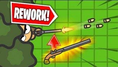 NEW SNIPER WEAPON in ZombsRoyale.io?