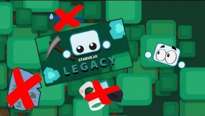 NEW STARVE.IO UPDATE!! LEGACY MODE!! | Starve.io gameplay